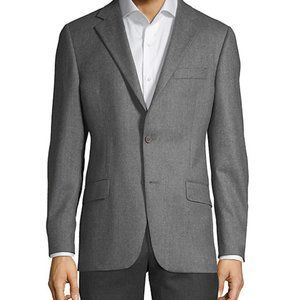 Hickey Freeman Milburn Ii Wool-blend Jacket Grey